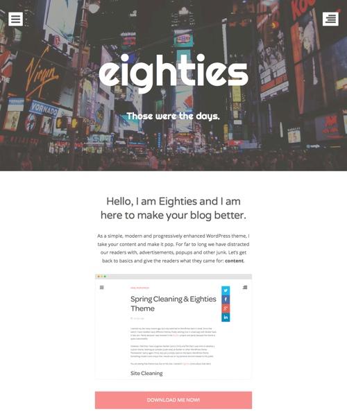 eighties-theme