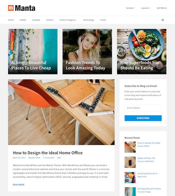 40+ Best Premium Blog WordPress Themes (2019)