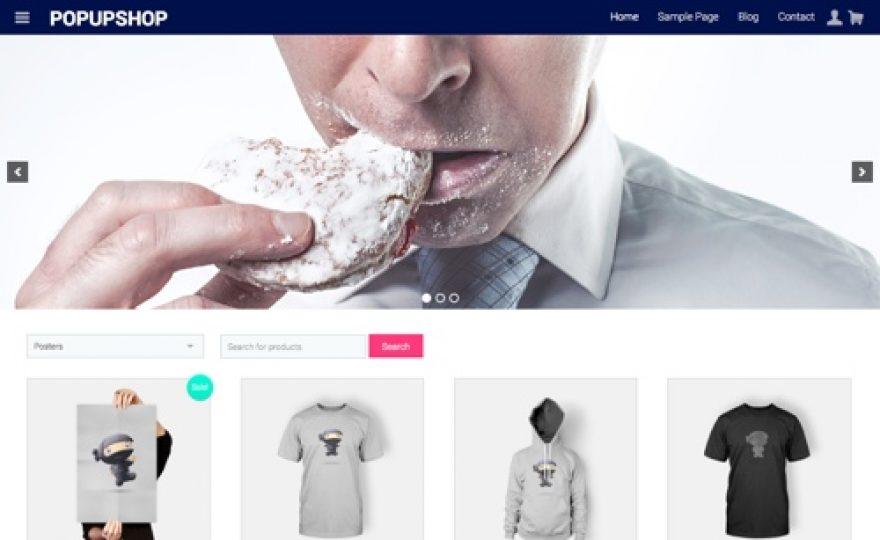 Pop Up Shop WooCommerce WordPress Theme