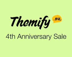 Themify Celebrate their 4th Anniversary with 40% Off Sale