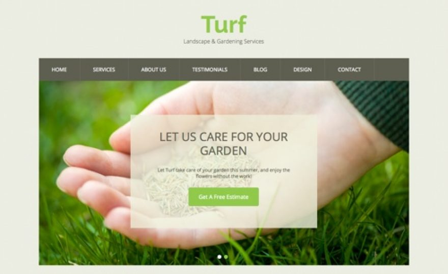 Gardening and Landscaping Business WordPress Theme