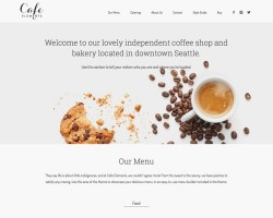 Café Elements WordPress Theme