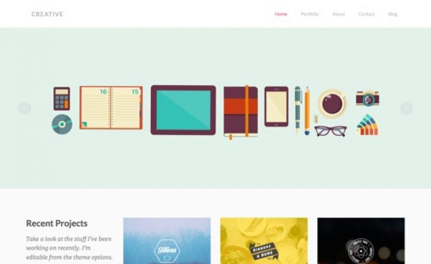 Creative: Portfolio WordPress Theme