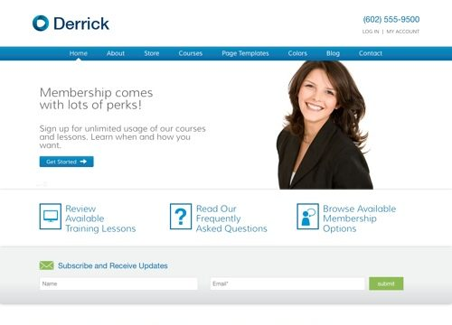 Derrick – Learning Management System WordPress Theme