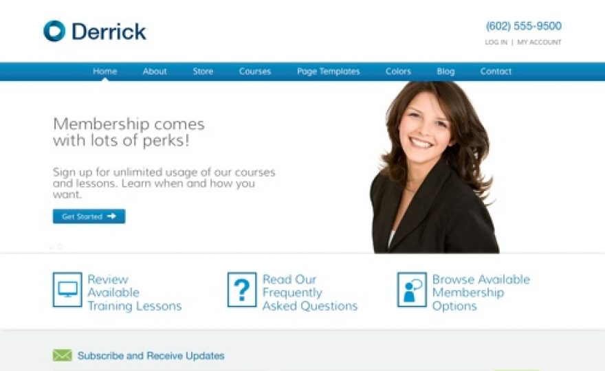Derrick – Learning Management System WordPress Theme