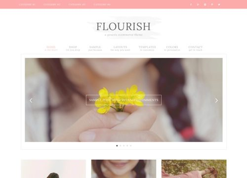 Flourish WordPress Theme