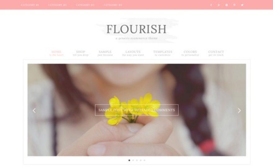 Flourish WordPress Theme