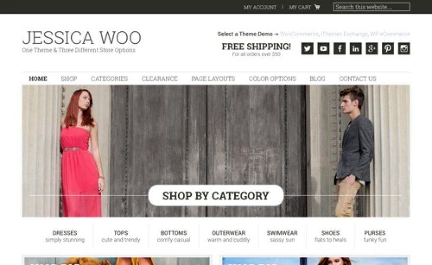 Jessica – WordPress Ecommerce Store Theme