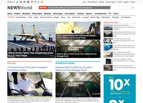 News World WordPress Theme