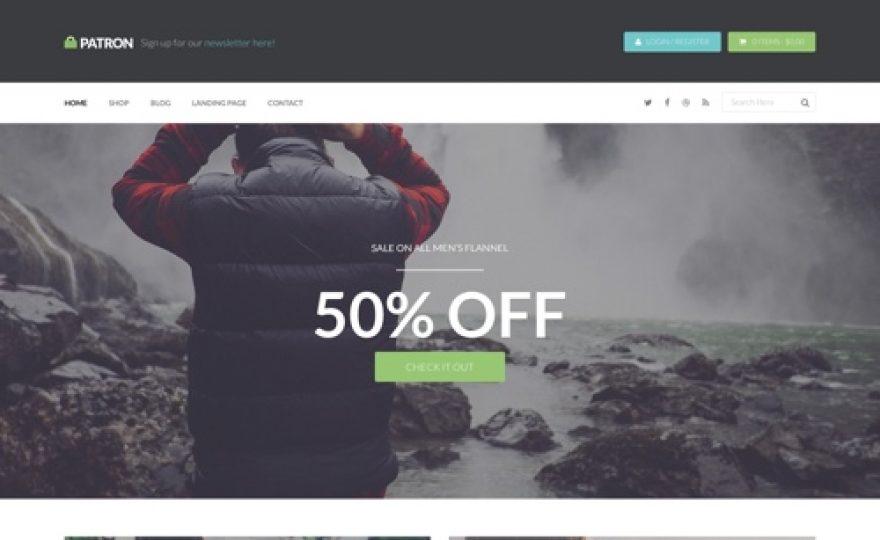 Patron – Ecommerce WordPress Theme