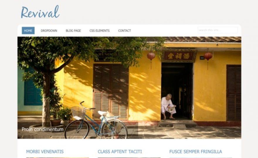Revival WordPress Business Theme