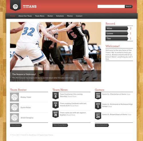 sports-team-theme