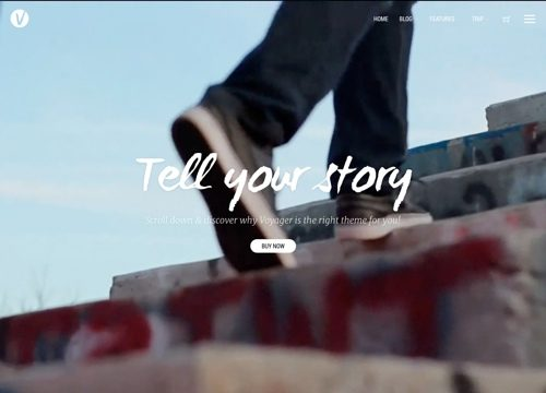 Best WordPress Themes with Video Backgrounds