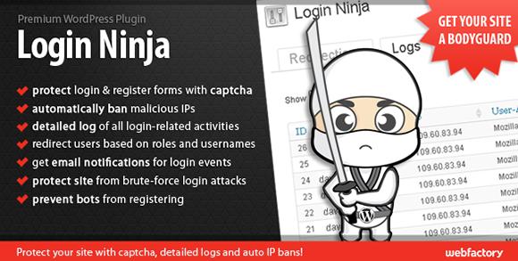 WordPress - Login Ninja   CodeCanyon