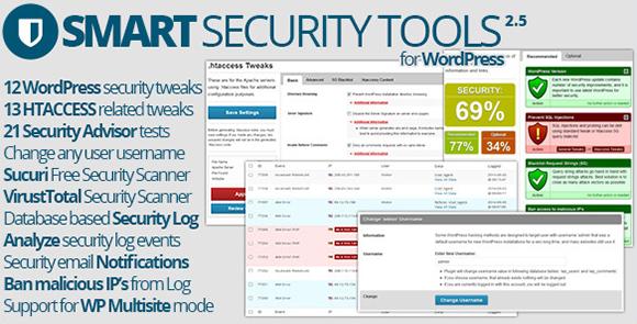 WordPress - Smart Security Tools   CodeCanyon