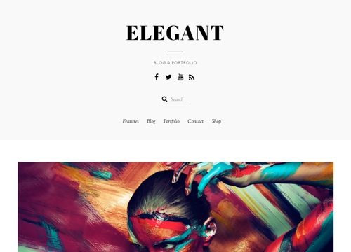 Elegant: Multi-Purpose WordPress Theme