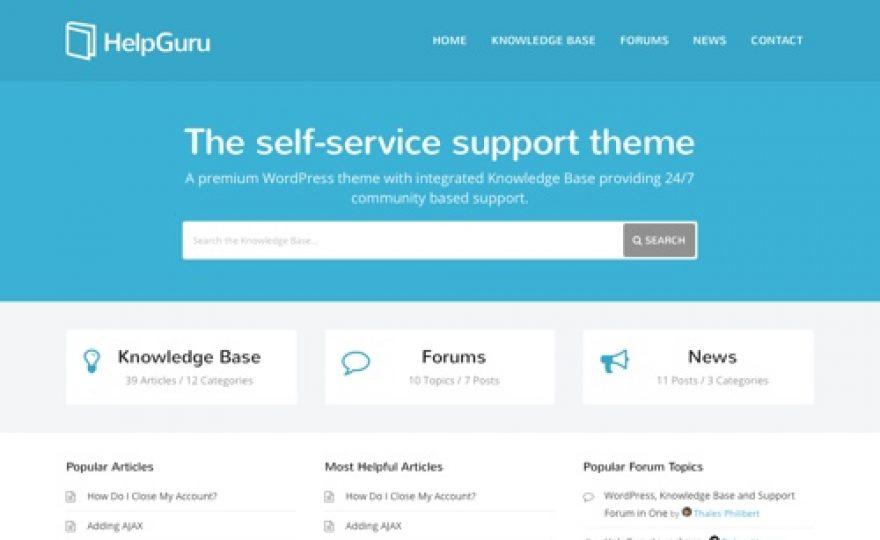 10+ Best Knowledge Base & Wiki WordPress Themes