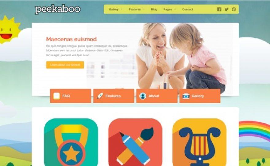 20+ Best Kids & Children WordPress Themes
