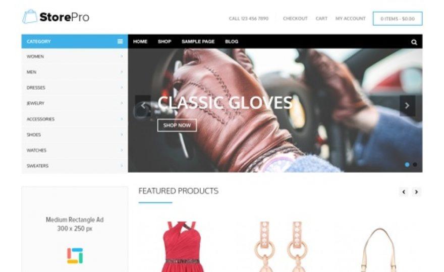 Store Pro: WordPress Ecommerce Theme