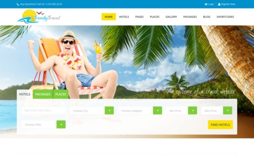 Best Travel Agency & Tour Company WordPress Themes