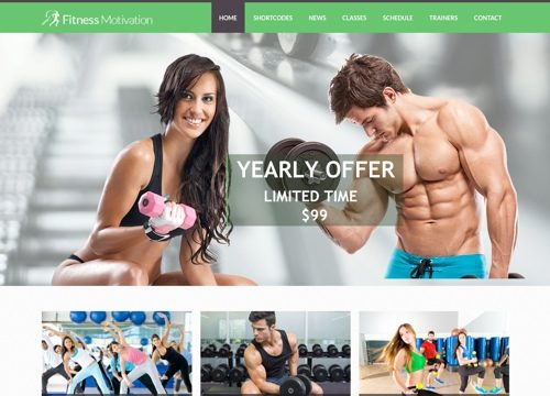 30+ Gym & Fitness WordPress Themes