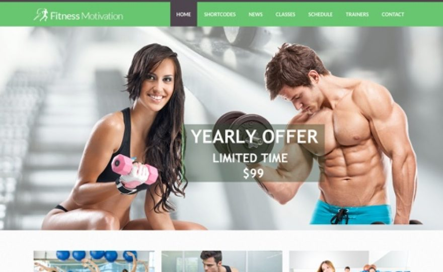 30+ Gym & Fitness WordPress Themes