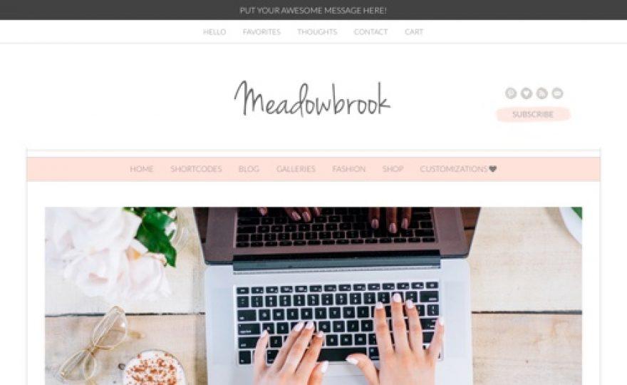 Meadowbrook WordPress Theme