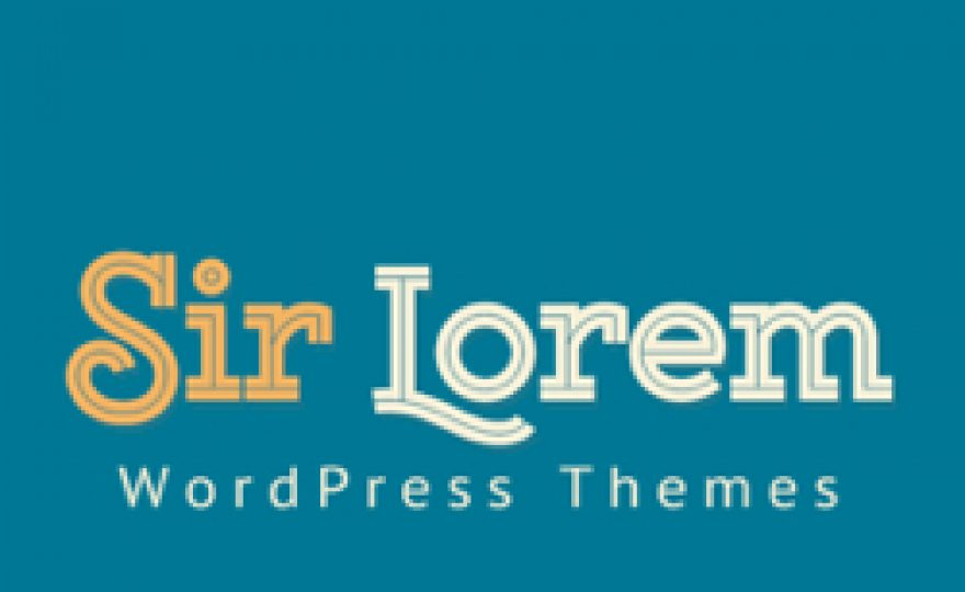 WordPress Themes by Sir Lorem