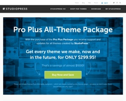 Black Friday Sale Starts Early at StudioPress