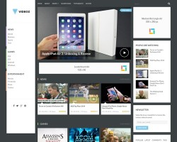 VideoZ: WordPress Video Theme