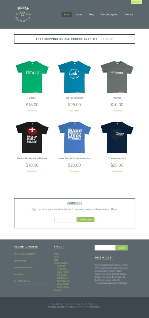 thesis ecommerce child theme Website templates 59 likes get 6800+ html templates on themeforest buy templates from $4 on the #1 marketplace for website templates.