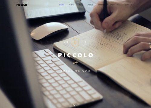 Piccolo Premium WordPress Theme