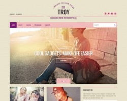 Troy: Blogging WordPress Theme