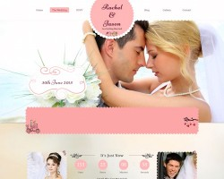 Enlance: WordPress Wedding Theme