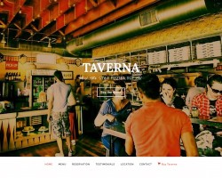 Taverna: Pub and Restaurant WordPress Theme