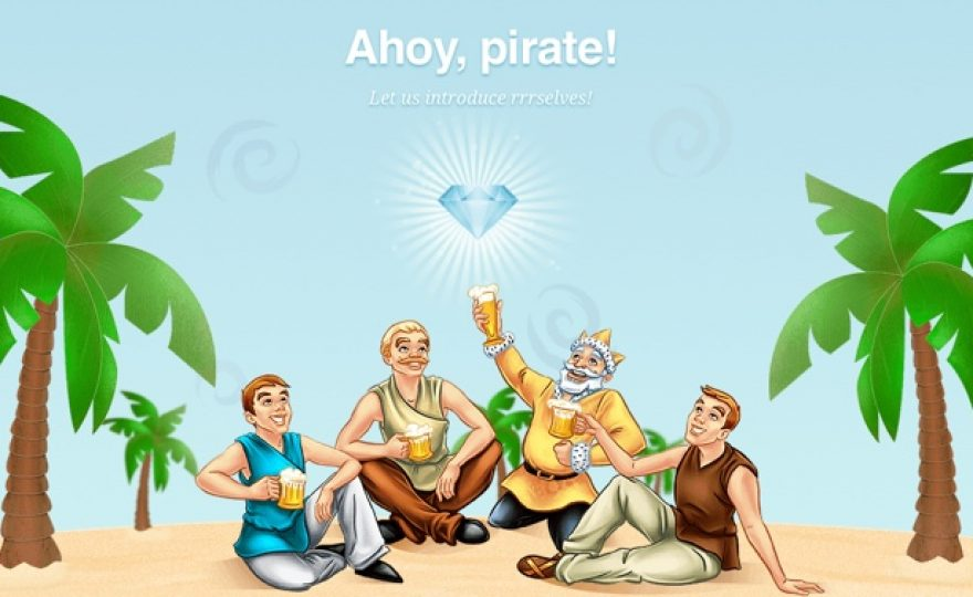 ThemeIsle: A Pirate Themed WordPress Club