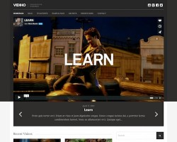 Vidiho: WordPress Video Blog Theme