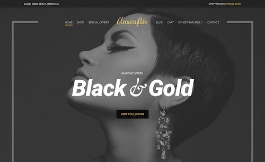 Amaryllis: WordPress WooCommerce Theme