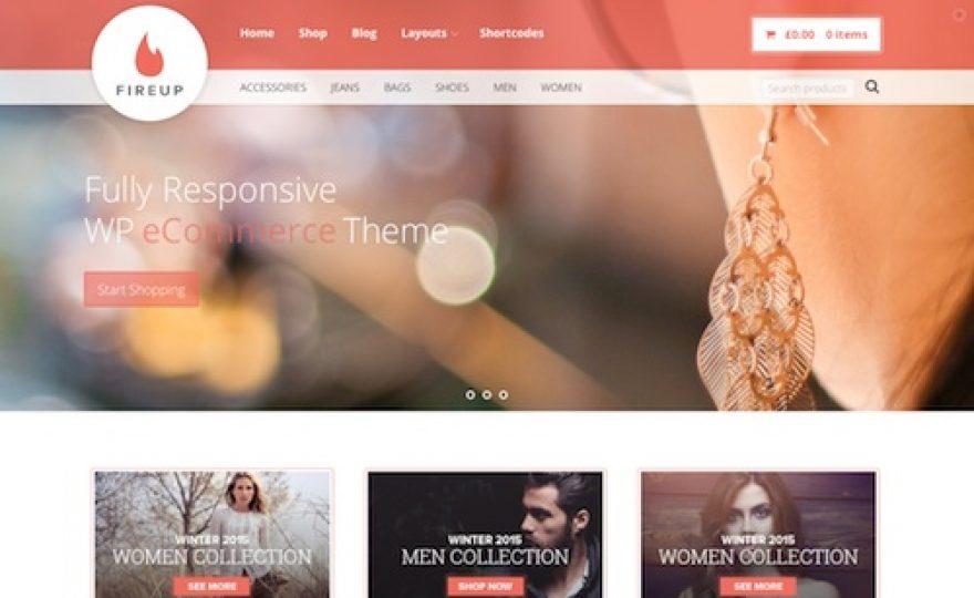 FireUp: eCommerce WordPress Theme