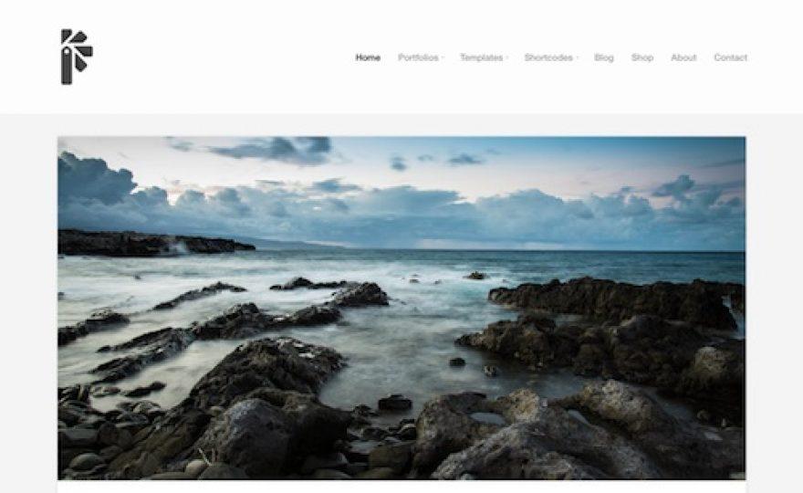 Portfolio Theme: Minimalist Portfolio WordPress Theme