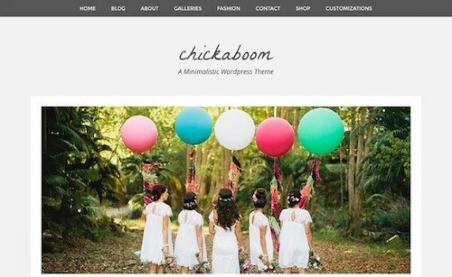 Chickaboom WordPress Theme