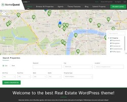 HomeQuest: Real Estate WordPress Theme