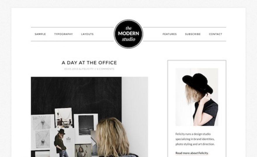 Modern Studio Pro WordPress Theme