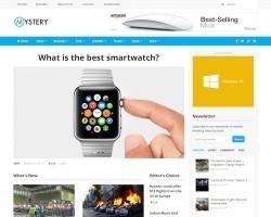 Mystery: WordPress Magazine Theme