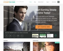 Steady Income WordPress Theme