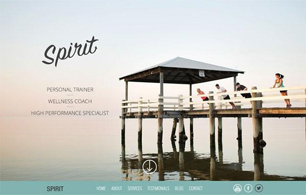 Upfront Review Spirit Starter Theme