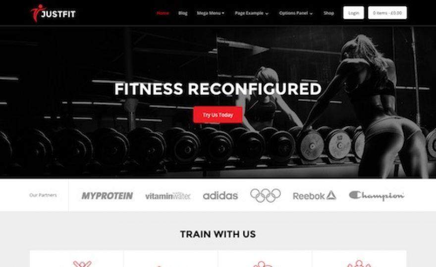 JustFit: Fitness & Gym WordPress Theme