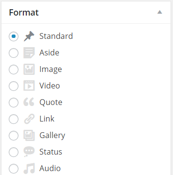 How to Use Post Formats in WordPress