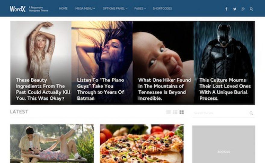WordX WordPress Theme