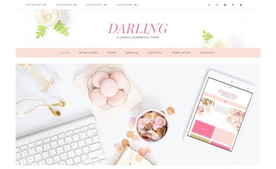Darling: Multi-use Feminine WordPress Theme